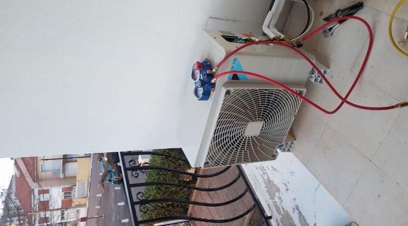 charger en gaz une climatisation réversible